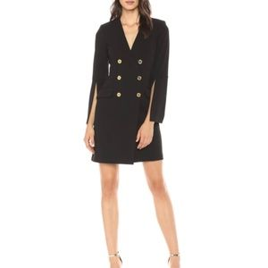 Calvin Klein Split Sleeve Blazer Dress